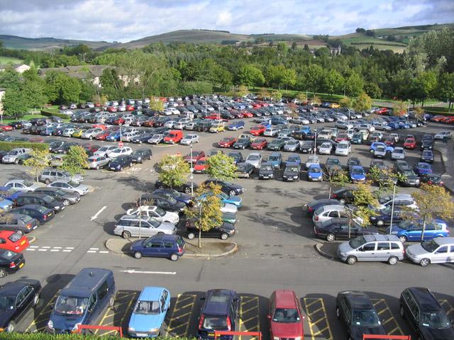 Vecsési reptéri parkoló